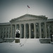 Treasury Building with Snow