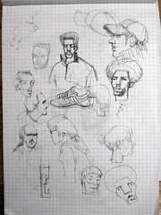 Found Art: Men Lu's meeting sketches