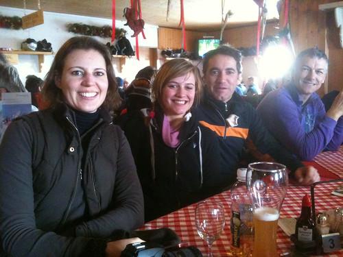 Monday lunch at Berghaus Somtgant