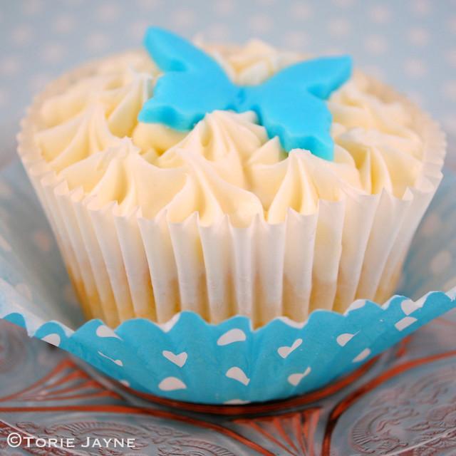 Gluten free Blueberry lemon cupcake
