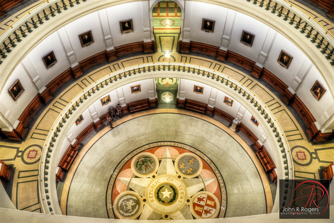 Texas Capitol Rotunda Floor