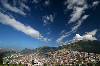 Clouds over Quito