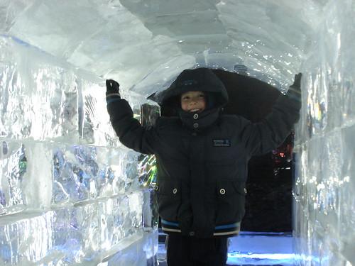 Disney Ice Igloo in China