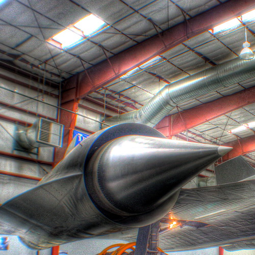 Lockheed SR 71 Blackbird engine