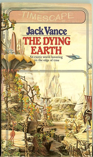 Jack Vance - The Dying Earth - cover artist unknown -  Timescape/Pocket - April 1982