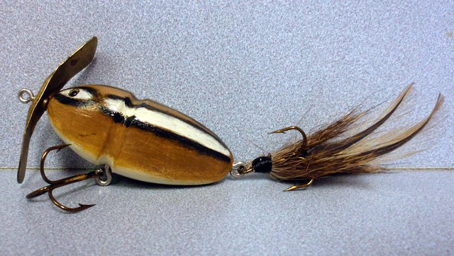 Homemade chipmunk fishing lure flickr photo sharing for Homemade fishing lures