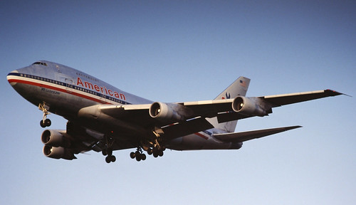 American Airlines Boeing 747SP