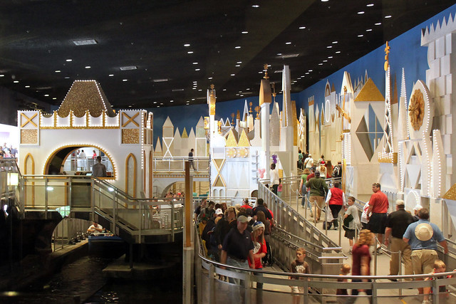 """""""it's a small world"""" seen from Pinocchio Village Haus"""