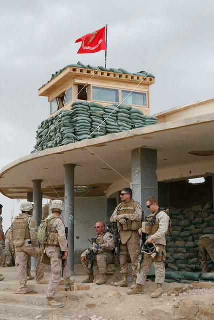 marines at fob marjah