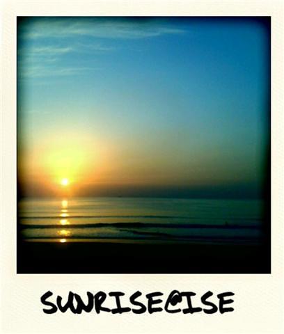 beach japan sunrise