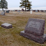 Cemetary at New Huttertal Mennonite Church / Bridgewater, South Dakota / 2010