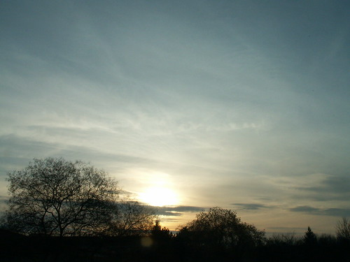 Sonnenaufgang und Himmel individuell im Luftballon verpackt 022