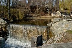 oak creek waterfall