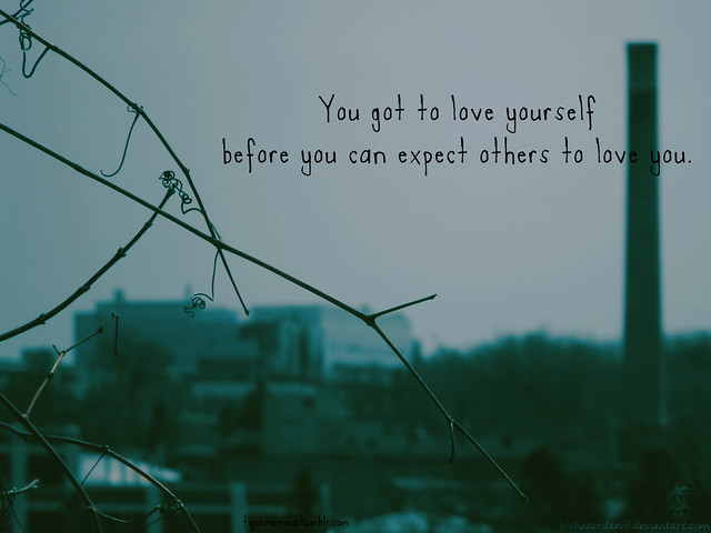how to love yourself first before others