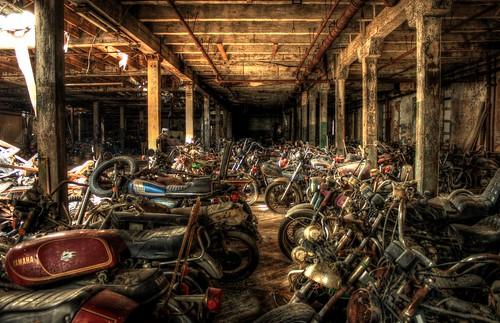 Motorcycle Graveyard 3 by cseward