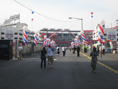 Opening Day Decorations at Nationals Park - Philadelphia Phillies at Washington Nationals 5 April 2010