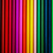 Colored Pencils - Vertical lines