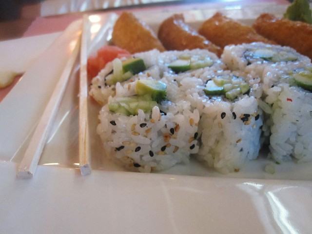 vegetarian sushi rolls | Explore buttermilk*blue's photos on ...