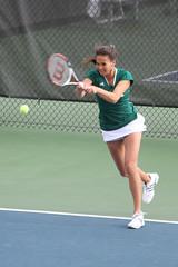 Fighting Irish women's tennis - volley