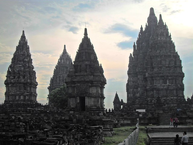 Prambanan temple complex, Central Java, Indonesia