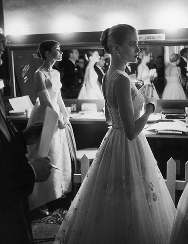 Grace Kelly;Audrey Hepburn by ShineByThree