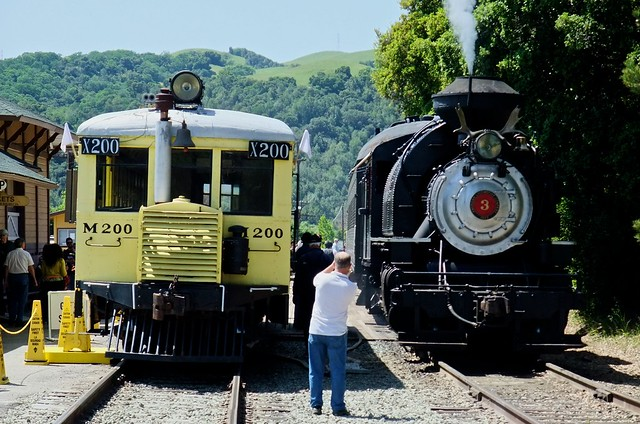 Niles Canyon Railway at Snoul Depot