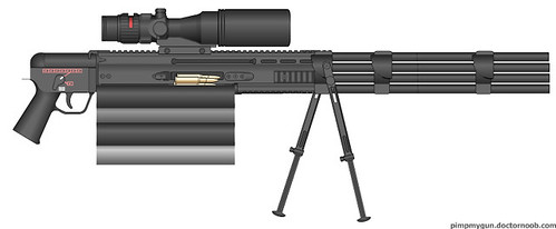 M9801 Gatlin Gun