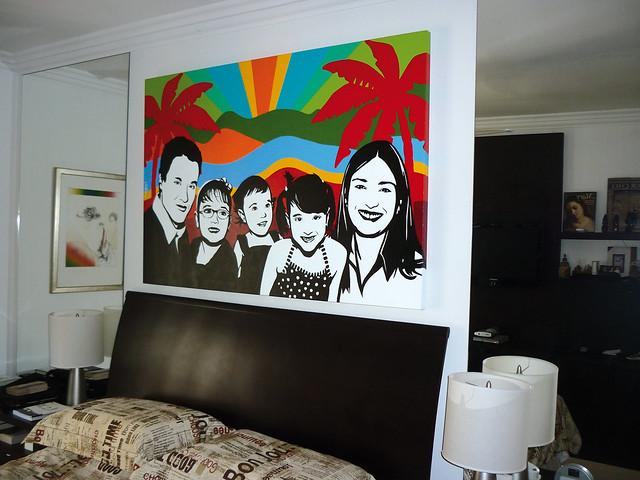 Happy Family Bedroom Pop Art Flickr Photo Sharing