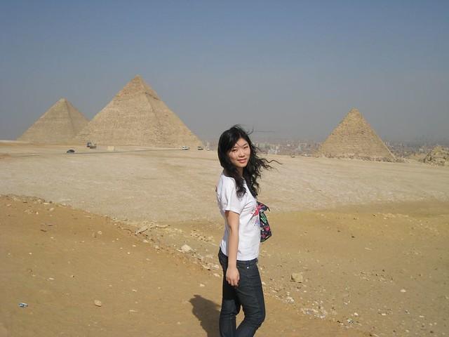 吉萨金字塔群   flickr