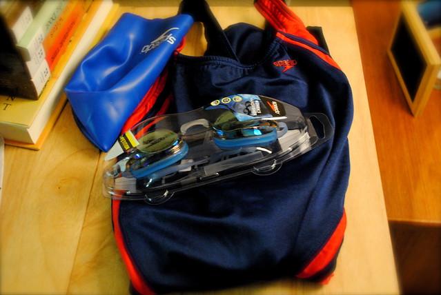 pool goggles  goggles will hopefully