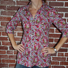 liverpool tunic by heather in liberty scarf