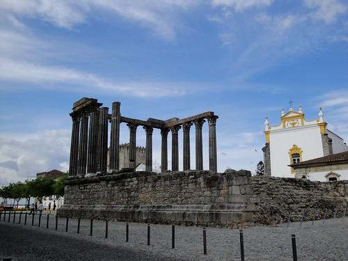 Templano Romano, Evora, Portugal