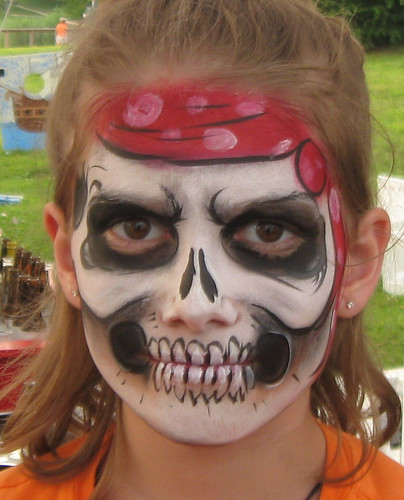 Pirate Princess Face Painting Ideas images