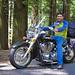 The Enfield Rider on VTX1300 by priti hansia