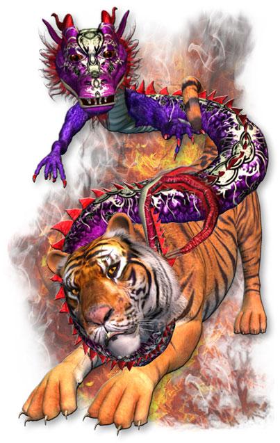 Dragon and Tiger, Yin ...