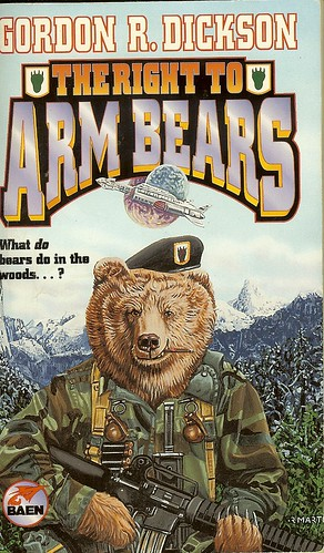 Gordon R. Dickson - The Right To Arm Bears - cover artist Richard Martin