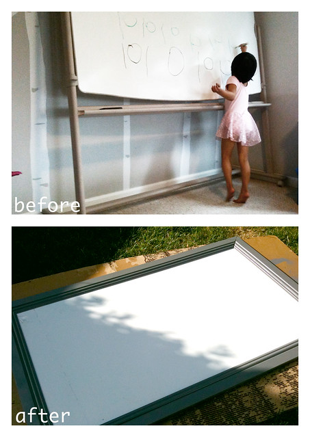 white board transformation