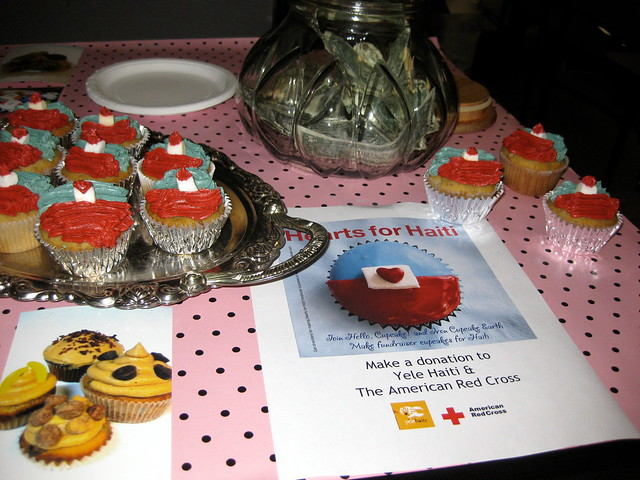 Hearts for Haiti bake sale