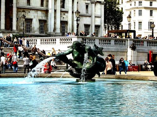 Trafalgar Square Fountains 6