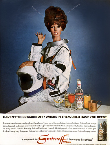 ... outerspace martinis!