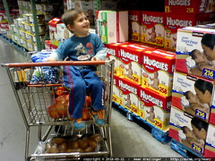 "do we need to buy any diapers today? ""NO!""   DSC03377"