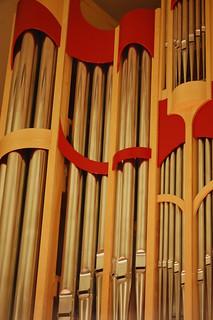 organ pipes at Doc Rando, UNLV