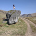 A very large boulder deposited by a glacier at the end of the last Ice Age in Gleann Taitneach, Scotland. by Shandchem