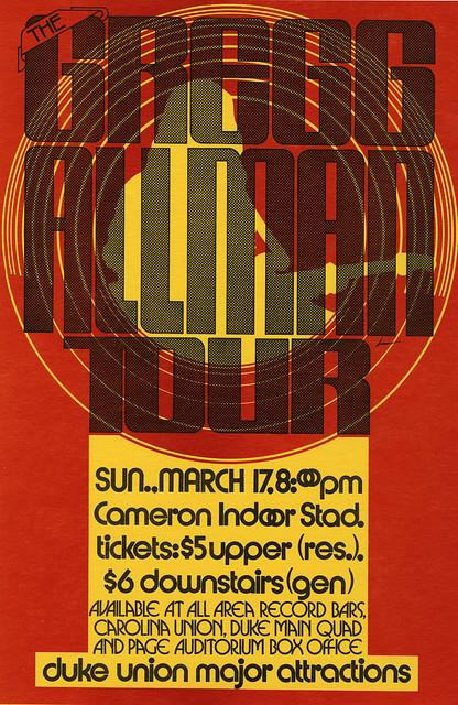 Gregg Allman Tour Setlist