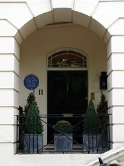 Photo of Anthony Salvin blue plaque