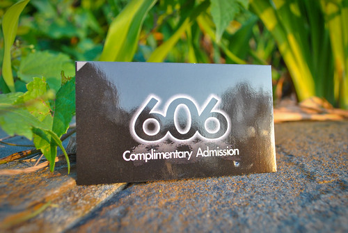 606 Business Card Sample