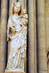 Vierge à l'enfant - Cathédrale Notre-Dame de Coutances - Manche - Basse Normandie