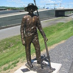WIlliamsport Wood Hick Statue