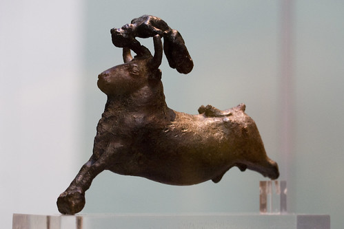 Minoan Bronze Bull Leaper
