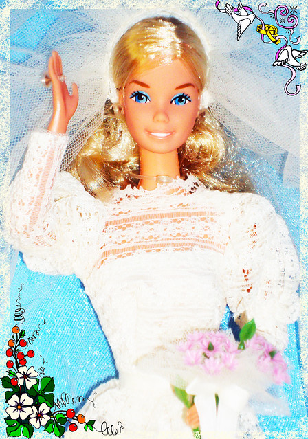 This Item Beautiful Bride Barbie 115